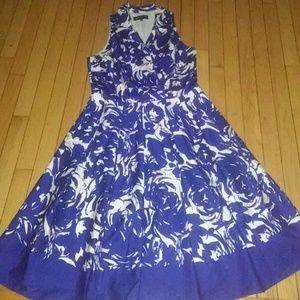 A-line Jones New York sleeveless dress